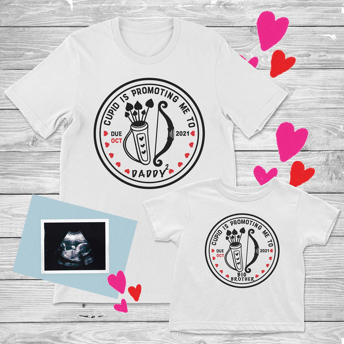 cupid-promoted-me-baby-announcement-tee-shirt-pregnancy-reveal-baby-onesie-valentine's-day-its my party kids boutique