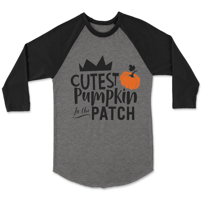 Cutest-pumpkin-in-the-patch-pumpkin-patch-harvest-thanksgiving-toddler-tee-shirt-It's My Party Kids Boutique