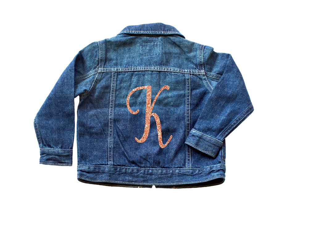 Glitter-monogram-toddler-denim-custom-jacket-3-It's My Party Kids Boutique