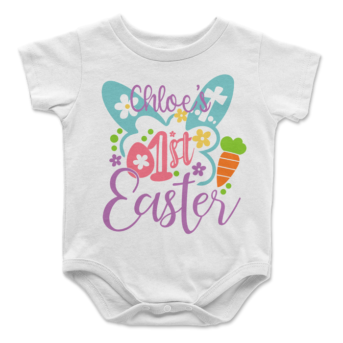 My First Easter Personalized Baby Onesie