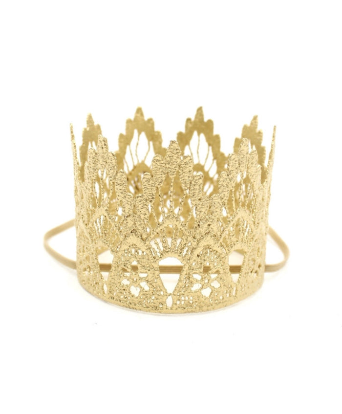 Gold Mini Crown, CROWNS - itsmypartykids