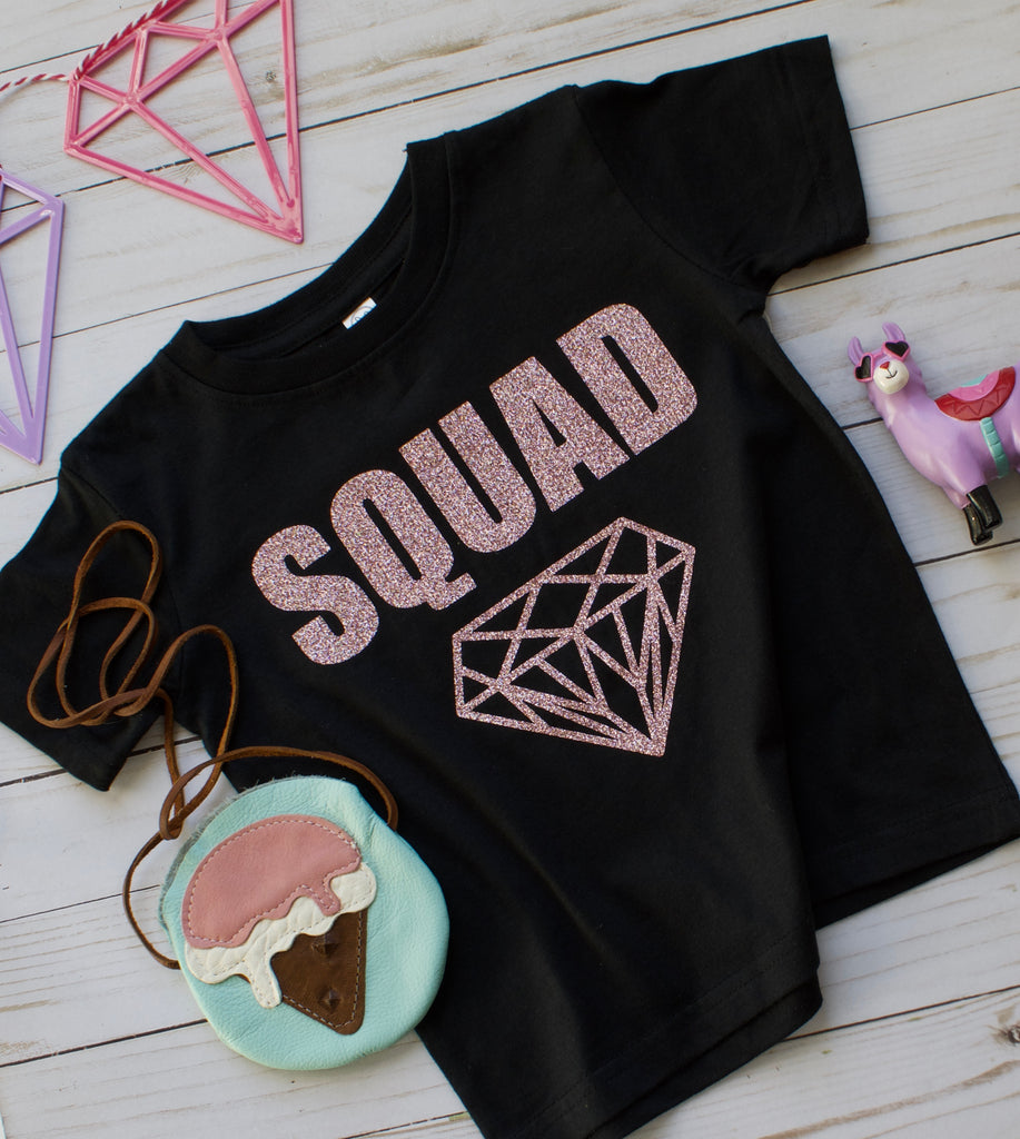 SQUAD ONESIE OR TSHIRT, TEES - itsmypartykids