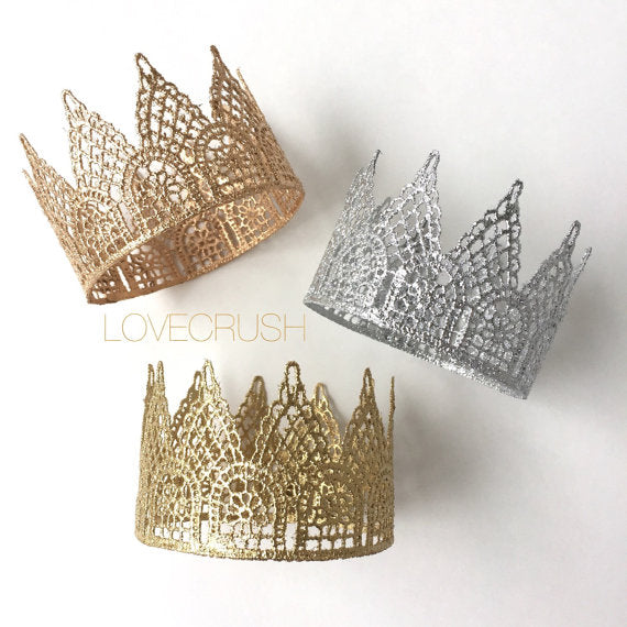 Silver Mini Crown, CROWNS - itsmypartykids