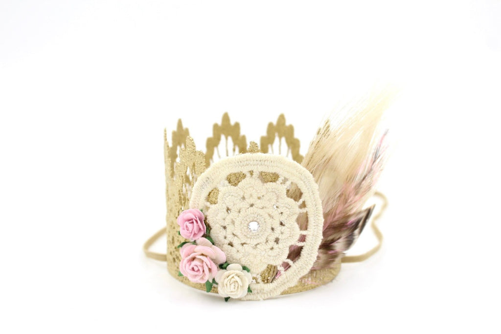 Dreamcatcher Mini Lace Crown, CROWNS - itsmypartykids