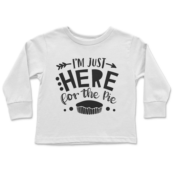 Im-just-here-for-the-pie-kids-funny-thanksgiving-tee-shirt-It's My Party Kids Boutique