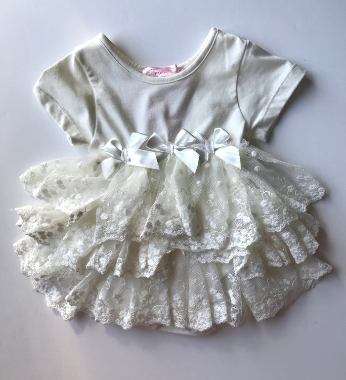 ivory-ruffle-baby-onesie-dress-front-its my party kids boutique