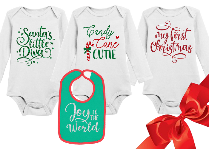 babys-first-christmas-holidays-onesie-and-bib-gift-set-It's My Party Kids Boutique