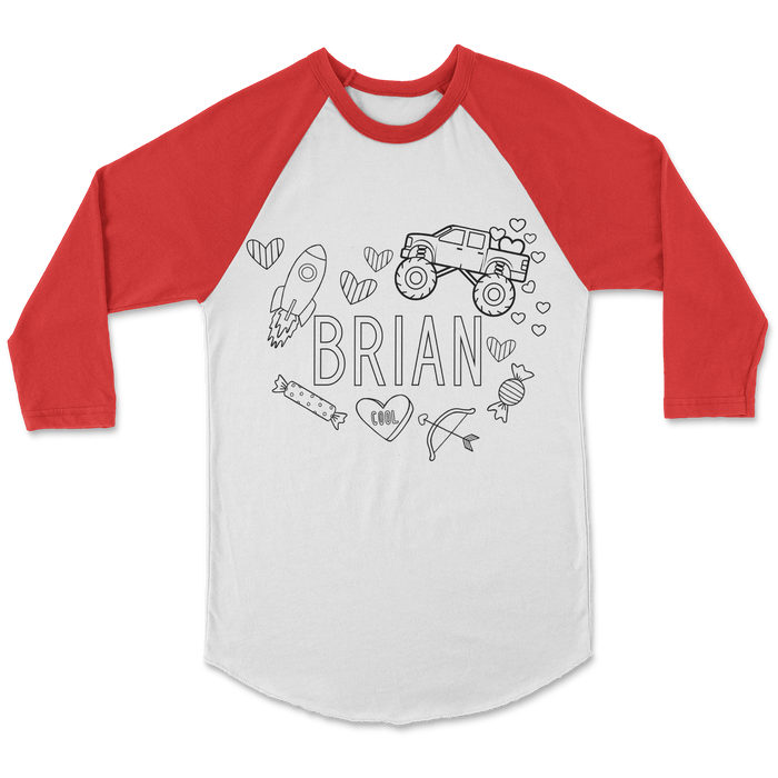 personalized-custom-heart-truck-valentines-day-raglan-kids-tee-shirt-its my party kids boutique