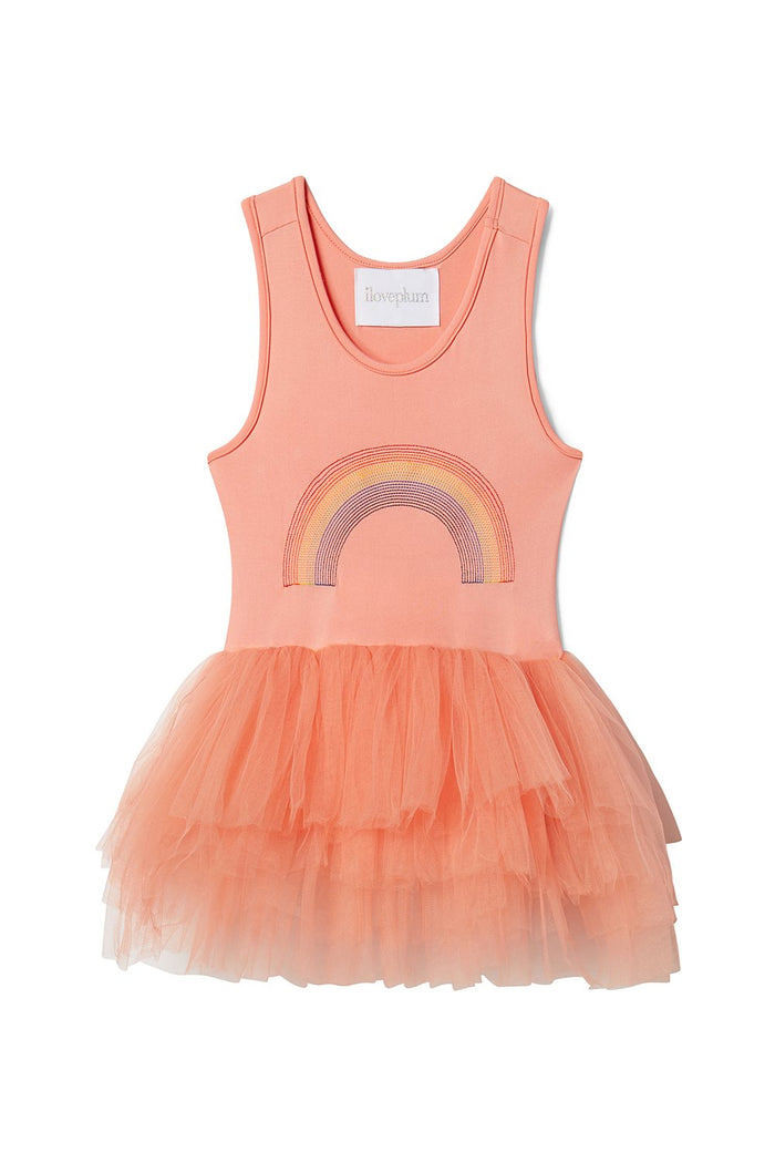 Rainbow Coral Tutu Dress, Tutu - itsmypartykids