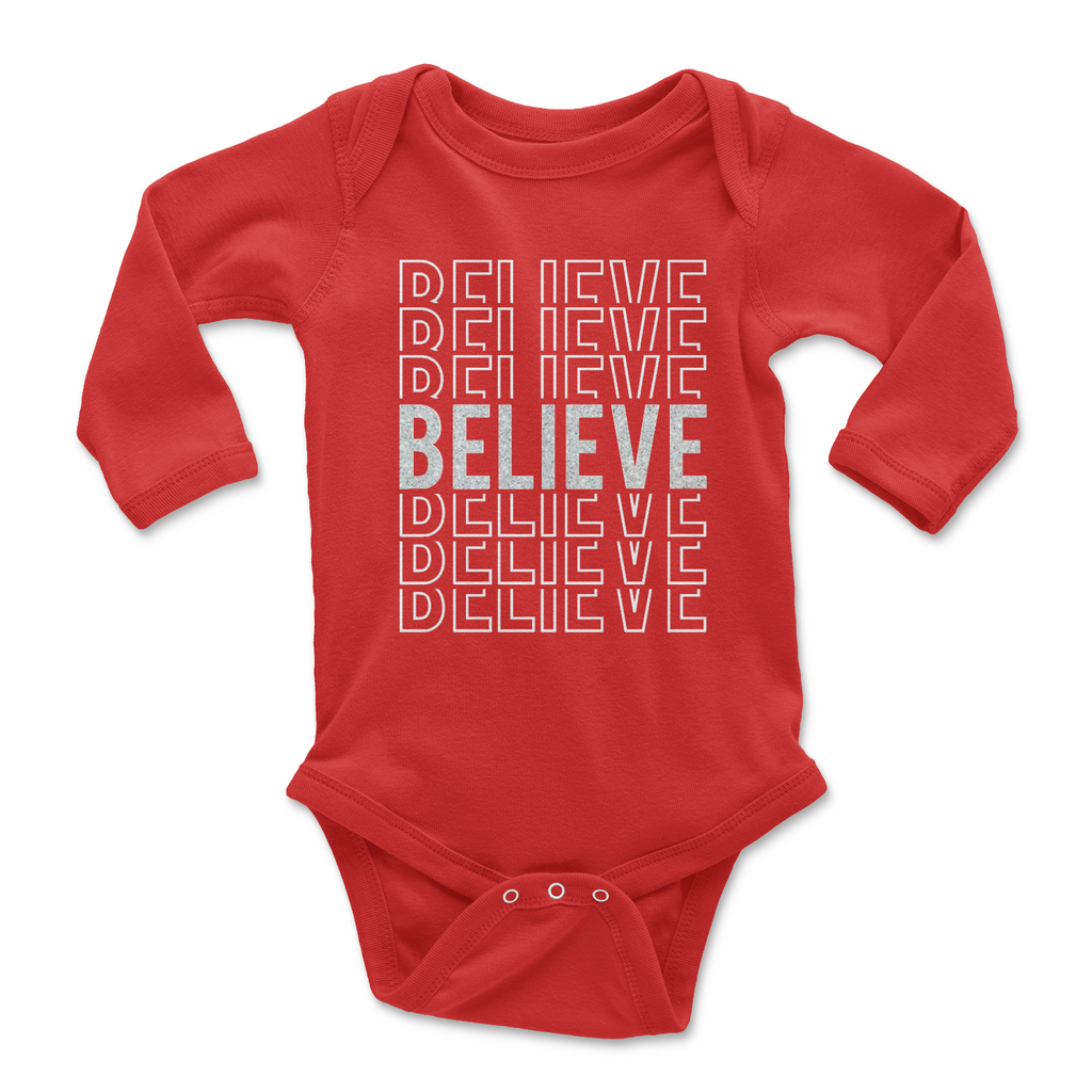 red-holiday-word-baby-onesie-glitter-long-sleeve-2-It's My Party Kids Boutique