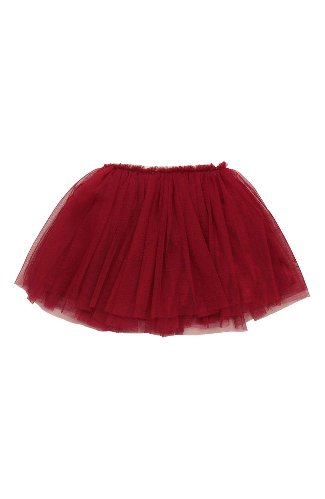 willow baby tutu skirt red - It's My Party Kids Boutique