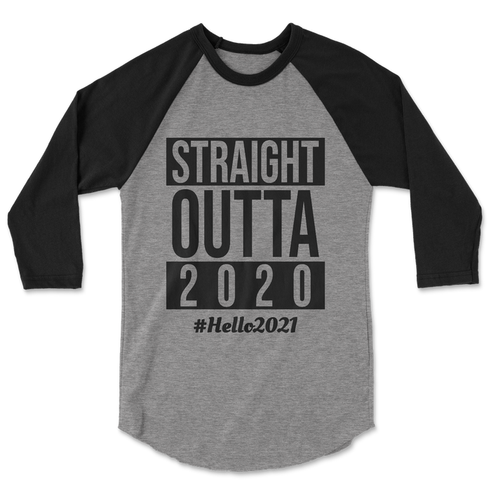 straight-outta-2020-kids-raglan-tee-shirt-black-grey-hello-2021-nye-its my party kids boutique