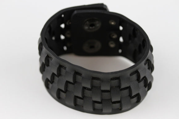 Power Rubber Bracelet - Reincarnated Art - RB006