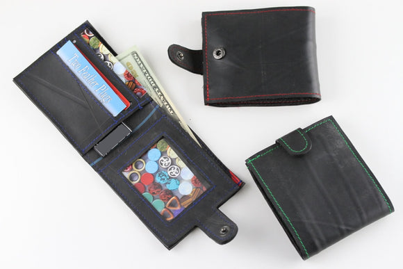 Rubber Wallet - Reincarnated Art - RW001