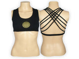Flower of Life Yoga Bra