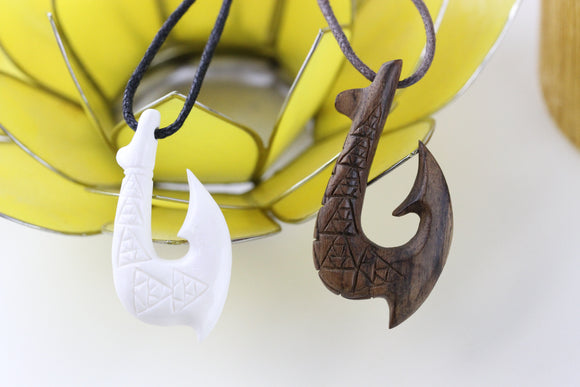 Tribal Hook Necklace