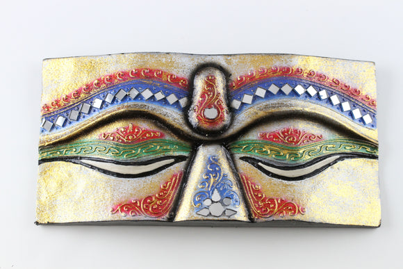 Buddha Eyes- Gold/ Blue/ Red