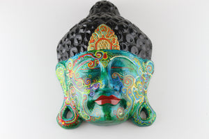 "Painted Buddha Head ""Sarga"""