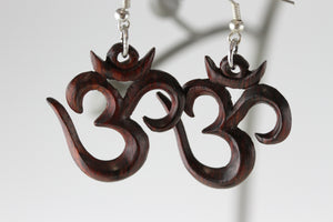 Om Symbol Earrings