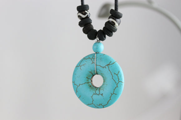 Circle of Life Stone Necklace
