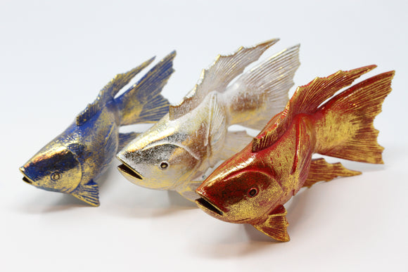 Goldfish Wood Sculpture