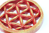 Yantra Flower of Life Wood Art