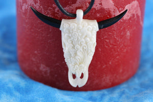 Cow Skull Necklace