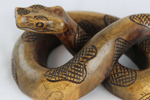 Wood Carved Snake