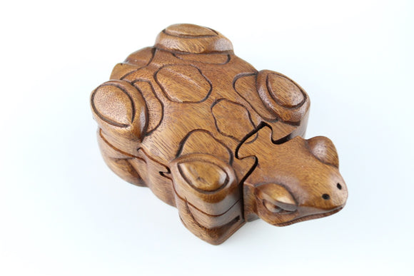 Frog Puzzle Box
