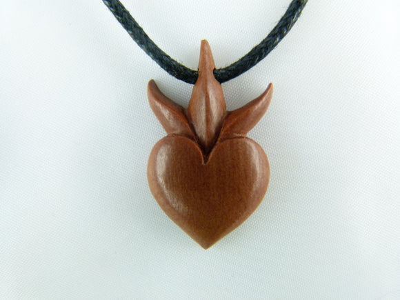 Sprouting Heart Necklace