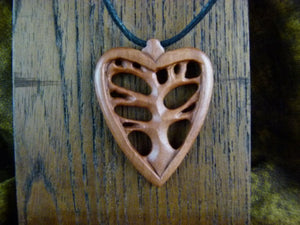 Tree in Heart Necklace