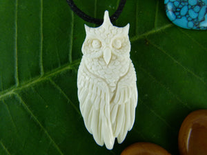 Horned Owl Necklace