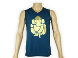 Men's Sleeveless Ganesh V-neck