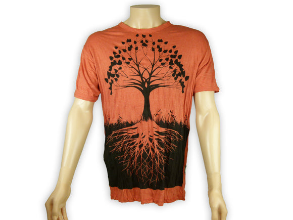 Men's Deep Roots Tree of Life Tee