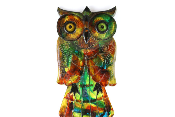 Painted Wise Owl