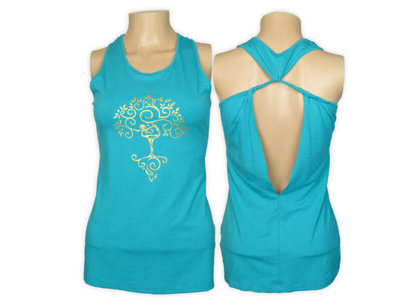 Dancer Open Back Tank