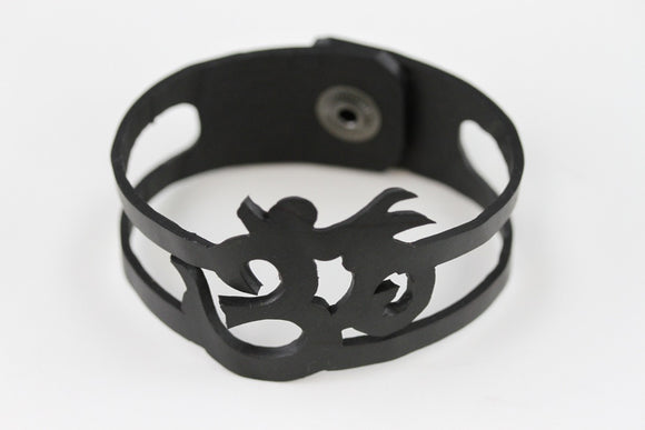 OM Rubber Bracelet - Reincarnated Art - RB008