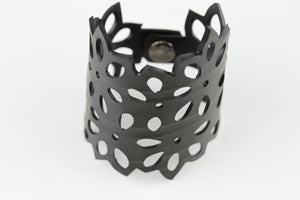 Flower Rubber Bracelet - Reincarnated Art - RB005
