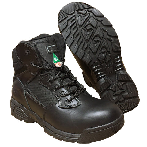 Stealth Force 6.0 Side Zip CT/CP Tactical Boots in Black - 5320