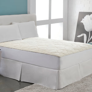 Cotton Fleece Mattress Pad