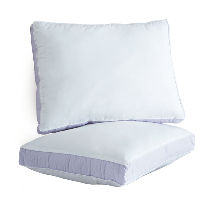 Wellrest™ Quilted Sidewall 2pk Pillow - XFirm