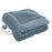 Serta® Heated Cuddler Throw with pockets- with 5 setting controller