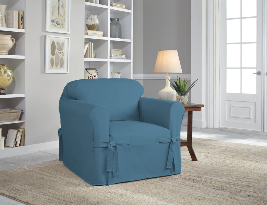 Serta® Relaxed Fit Duck Furniture Slipcover
