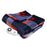 Serta® Silky plush Printed Throw - with 5 setting controller