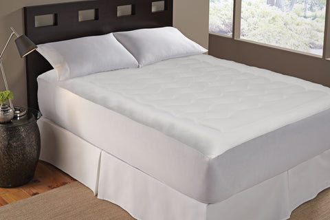 "Perfect Fit TempaCool Cooling, Breathable Mattress Pad, Fits 18"" Mattress, Machine Washable"