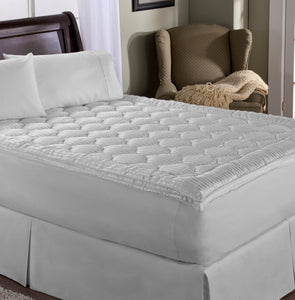 Luxury Stripe Mattress Enhancer