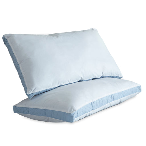 Wellrest™ Quilted Sidewall 2pk Pillow - Firm