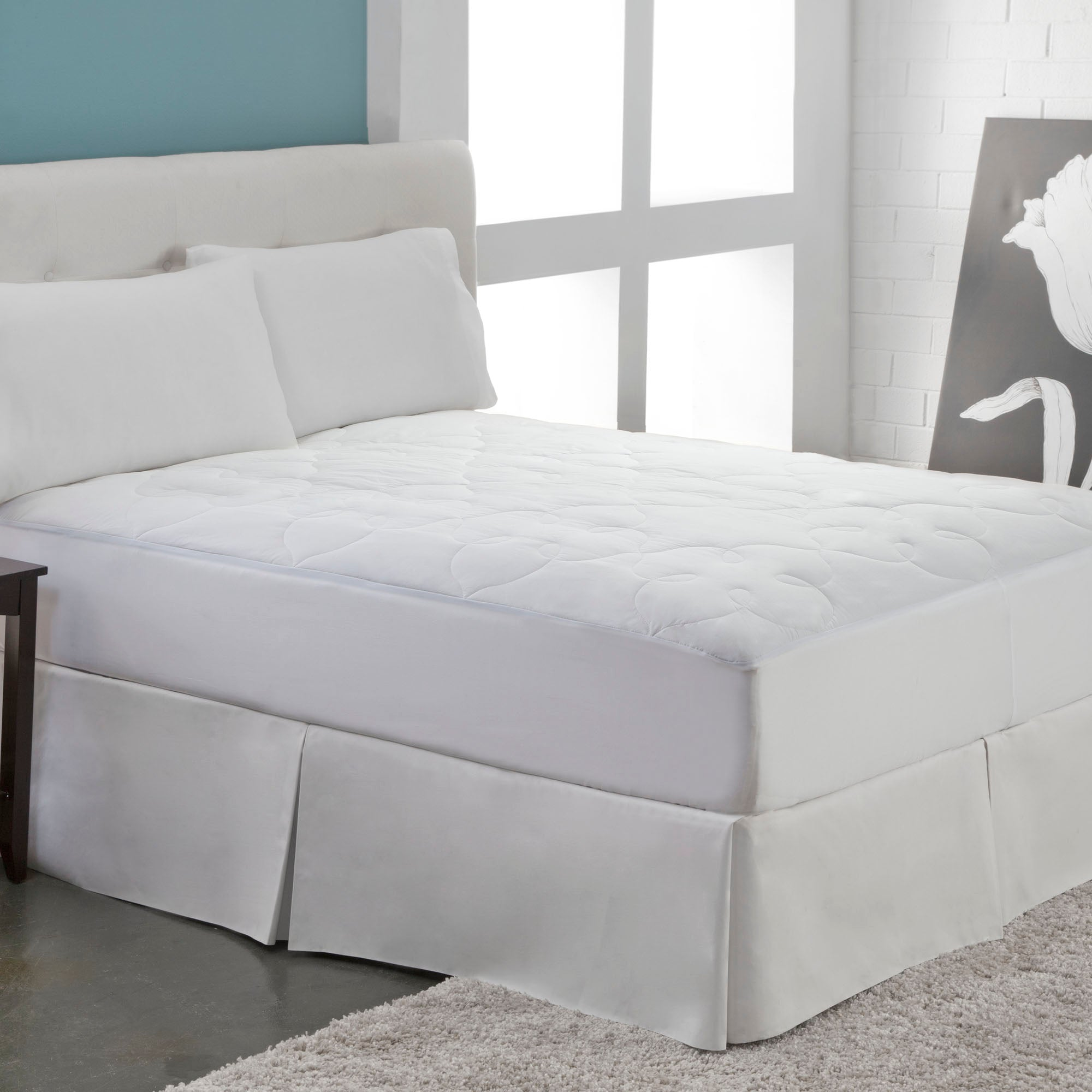 Silky Cotton Mattress Pad