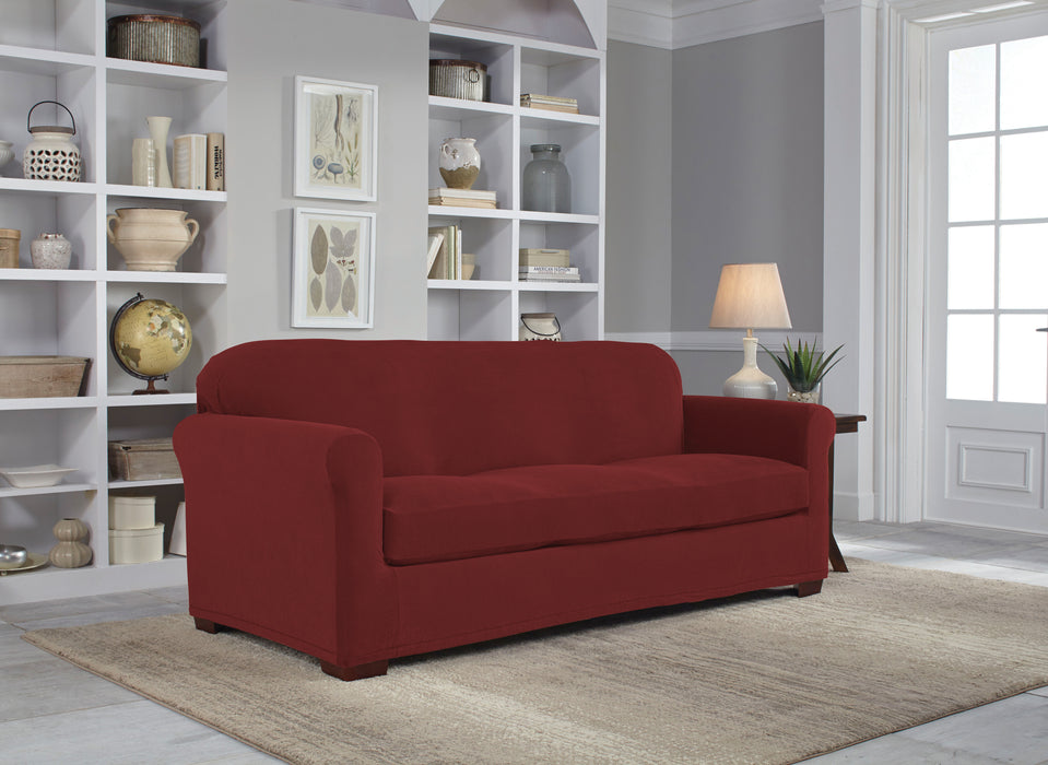 Serta® Stretch Grid Slipcover