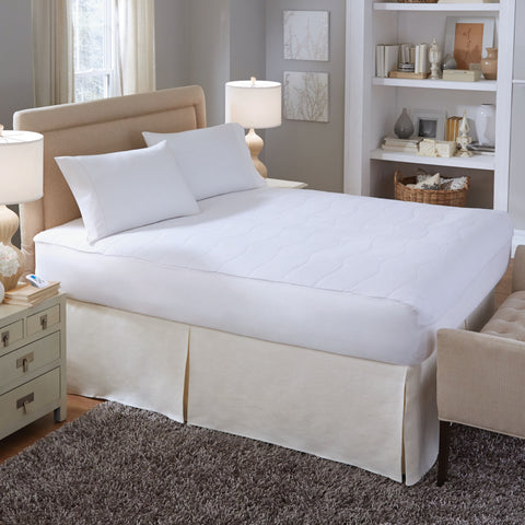 Serta Plush Velour Sheet Warming Mattress Pad